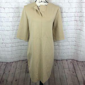 COS Ponte shift dress